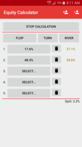 Poker Equity Calculator Pro apk android free