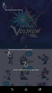 Voltron Stickers apk free android