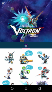 Voltron Stickers free apk android