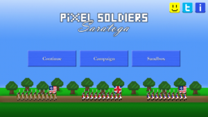 Pixel Soldiers Saratoga 1777 android free