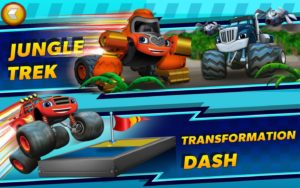 Blaze and the Monster Machines Obstacle Course 2