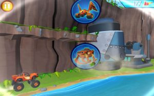 Blaze and the Monster Machines Obstacle Course 3