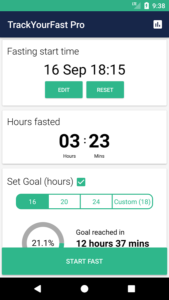 Track Your Fast Pro - Intermittent Fasting Tracker 2
