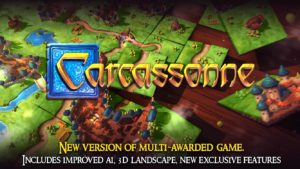 Carcassonne Official Board Game -Tiles & Tactics 2