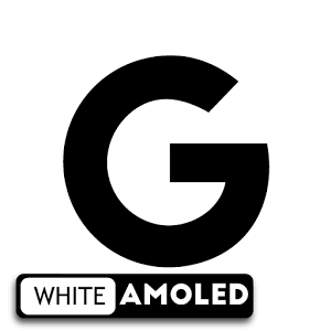 Pixel Oreo 8 White AMOLED UX Icon Pack APK Free