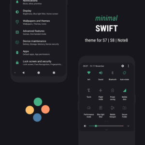 Swift Minimal Substratum Theme for Samsung 2