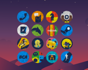 Color Paper - Icon Pack 4