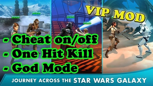 Star Wars: Galaxy of Heroes gameplay