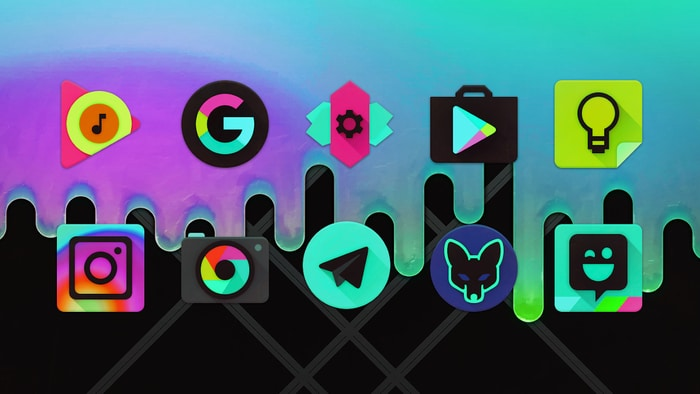 Black Light Icon Pack APK for Android V6 6 Free Download – Android4Fun