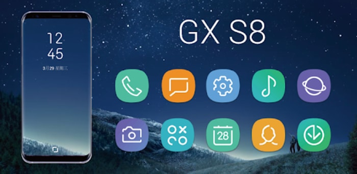 GX S8 Icon Pack APK for Android V1 1 3 Free Download