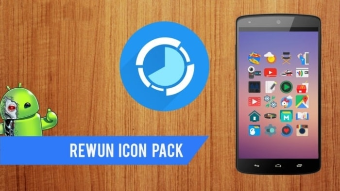 Rewun Icon Pack APK for Android Free Download – Android4Fun