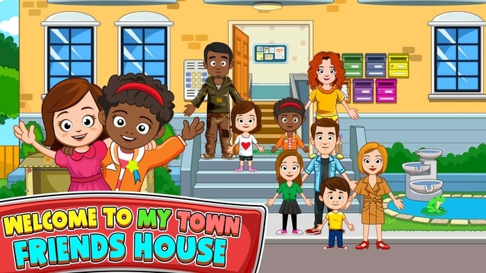 my town best friend house apk download free